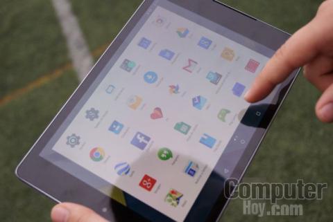 Nexus 9 manejo