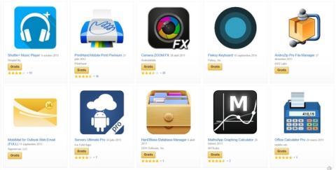 Packs de app gratis Amazon