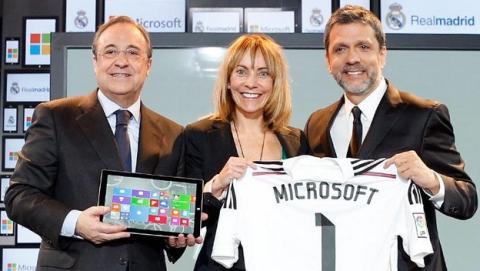 Real Madrid y Microsoft estrenan un acuerdo tecnológico y una plataforma online para acceder a las estadísticas de los jugadores.