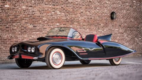El primer Batmóvil de la historia, que data de 1963, a subasta por 90.000 $.