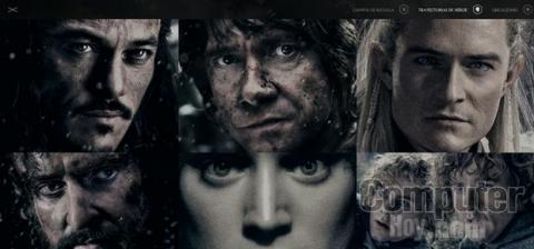 Chrome Experiment Hobbit