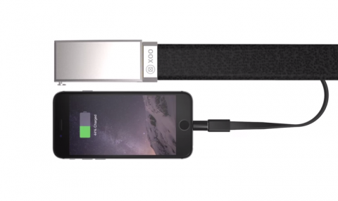 Así es el nuevo cinturón que cargará tu teléfono móvil