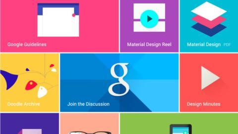 material design webs