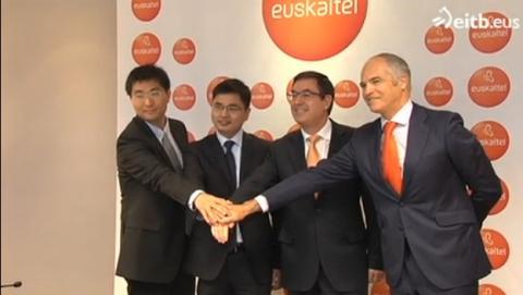 ZTE establece su sede central del Sur de Europa en Euskadi