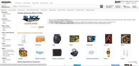 Black Friday en Amazon.es