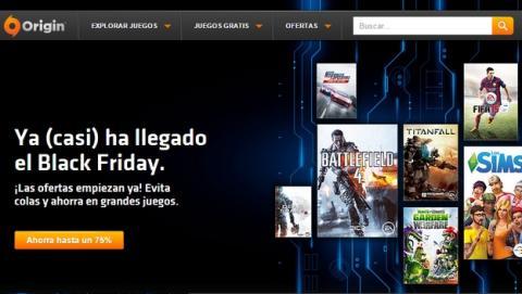 Xbox y Origin inician el Black Friday, descuentos y ofertas de hasta el 85%.