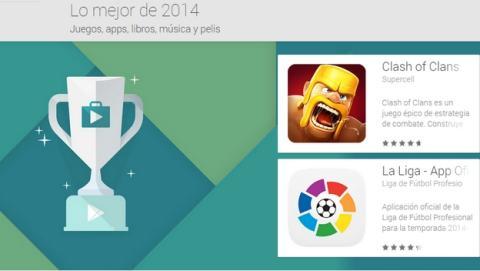Google Play elige las Mejores Apps y juegos de 2014 para Android.