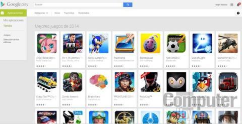 Mejores juegos de 2014 Google Play