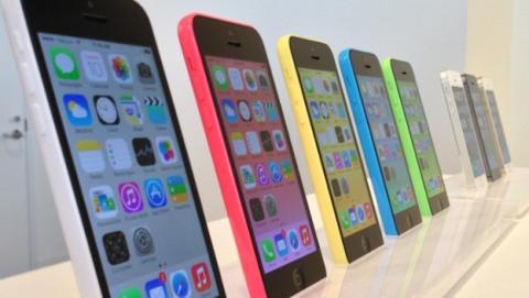 iPhone 5C en Apple Store