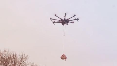 Drone camarero