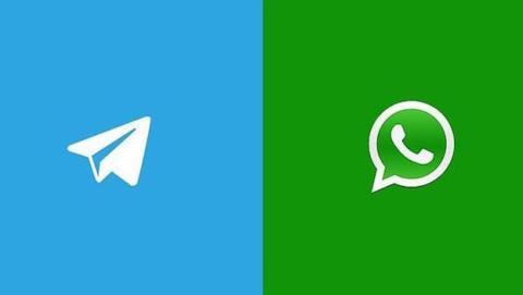 La guerra entre WhatsApp y Telegram se extiende al 2015