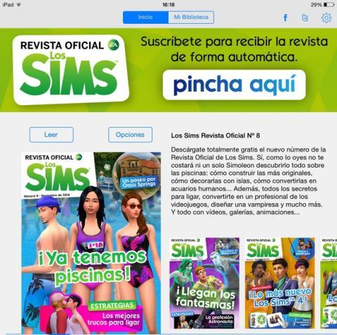 Revista Oficial de Los Sims número 8