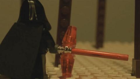 Trailer de Star Wars Episodio VII, versión Lego