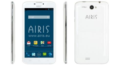 AIRIS TM60Q el nuevo smartphone quad core con pantalla de 6 pulgadas a precio asequible.