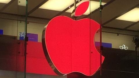 La manzana roja de Apple, nuevo símbolo en el Día Mundial de la Lucha contra el SIDA.