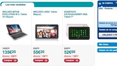 Cyber Monday en Carrefour tablets