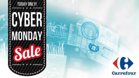 Cyber Monday: Carrefour lanza sus ofertas y descuentoso