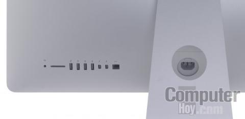 Conexiones en el Apple iMac 27'' con pantalla Retina 5K