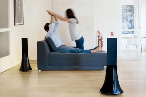 Disfrutar de un sistema de sonido de cine en casa es sencillo