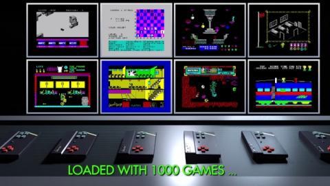 Sinclair ZX Spectrum Vega, el nuevo ordenador creado por Sir Clive Sinclair que incluye 1000 juegos de Spectrum.