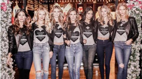 Las cuentas de Instagram de las modelos de Victoria's Secret