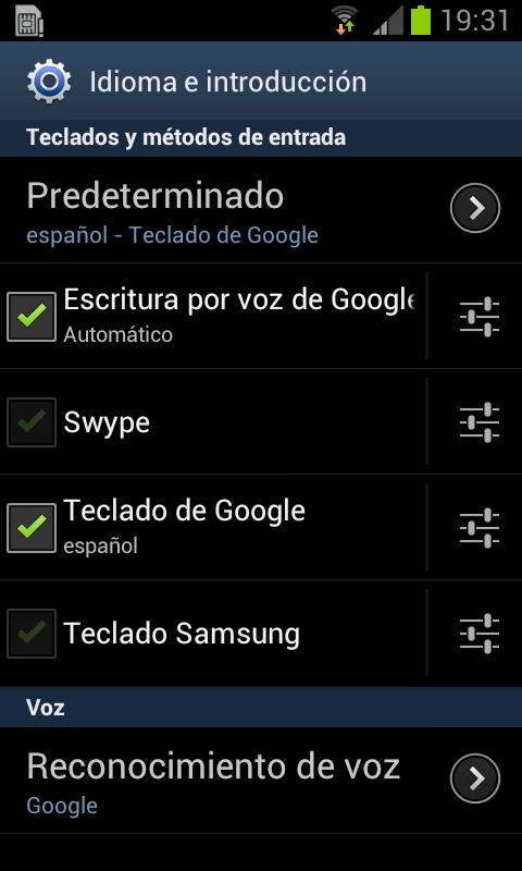 Cambia tu teclado por el de Android 5.0
