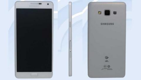 Samsung Galaxy A7, el smartphone más fino de Samsung