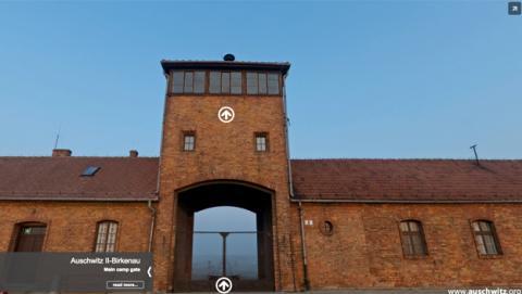 Visita Auschwitz en un recorrido virtual desde tu casa
