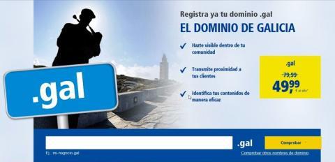 Ya disponibles en 1&1 los dominios geográficos .gal y .eus