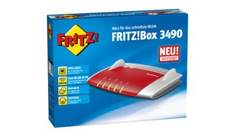 AVM lanza FRITZ!Box 3490, su nuevo modelo de FRITZ!Box