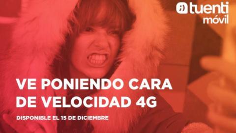 Tuenti ofrecerá servicio 4G a partir del 15 de diciembre