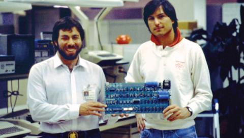 Steve Wozniak y Steve Jobs