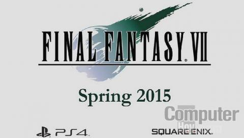 Final Fantasy VII en PS4