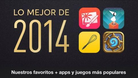 Apple elige las mejores apps de 2014 en la App Store.