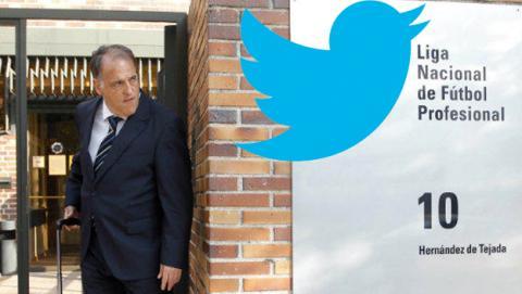 Twitter se ríe de la LFP reescribiendo cánticos en el fútbol