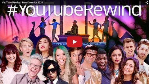 Lo más visto de YouTube 2014