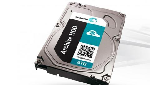 Seagate anuncia un disco duro de 8 TB con tecnología SMR
