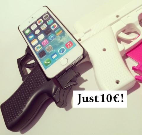 Gun Case funda pistola iPhone 6