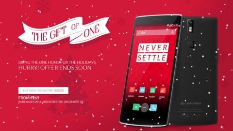 OnePlus One a la venta sin invitación en España, a tiempo para Navidad