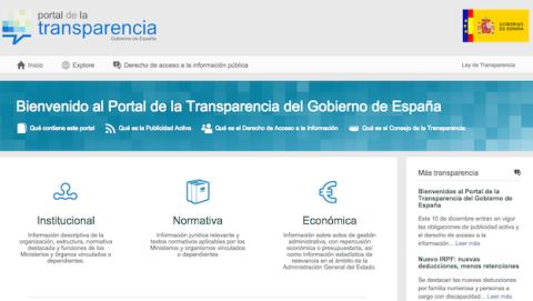 nueva web de transparencia