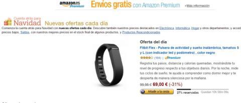 Amazon España oferta del día