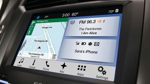 Ford Sync Blackberry Microsoft