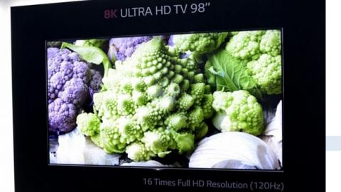 lg televisor 8k