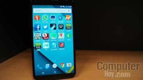 Pantalla Nexus 6