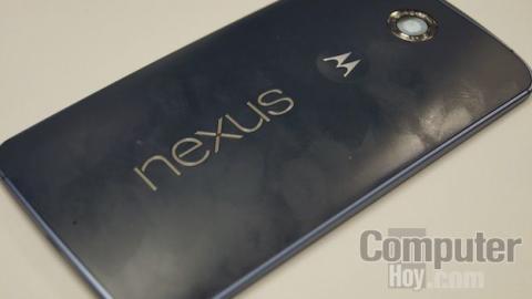Huellas en Nexus 6
