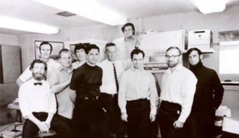 Primeros integrantes del equipo de ARPANET