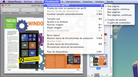 visualización PDFs