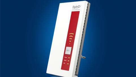 AVM lanza al mercado mundial FRITZ!WLAN Repeater 1750E