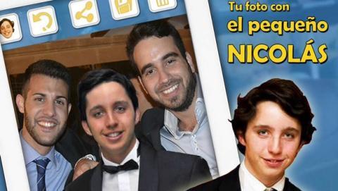 Hazte un selfie con el pequeño Nicolás con la app para iOS y Android Tu Foto con el Pequeño Nicolás.