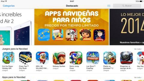La App Store subirá el IVA del 3% al 21% el 1 de enero en España.